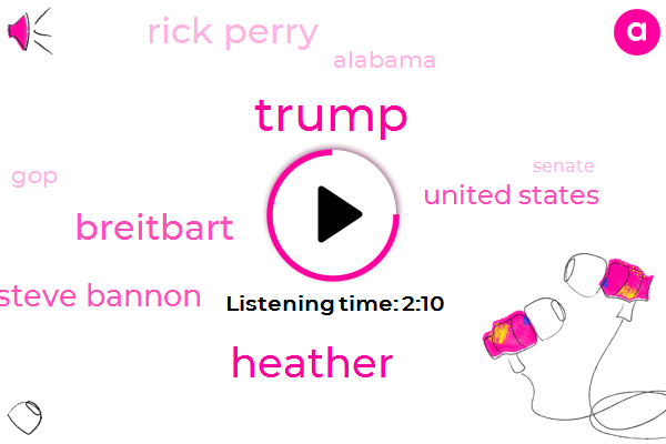 Donald Trump,Heather,Breitbart,Steve Bannon,United States,Rick Perry,Alabama,GOP,Senate