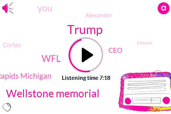 Donald Trump,Wellstone Memorial,WFL,Vincent Grand Rapids Michigan,CEO,Alexander,Cortez,Vincent,S. O.,Congress,White House,Ninety Percent,Two Years,Fifty Percent,Forty Percent