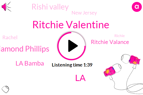 Ritchie Valentine,Lou Diamond Phillips,La Bamba,LA,Ritchie Valance,Rishi Valley,New Jersey,Rachel,Richie,Seventeen Years