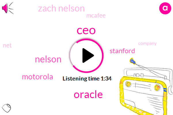 CEO,Nelson,Oracle,Motorola,Stanford,Zach Nelson,Mcafee