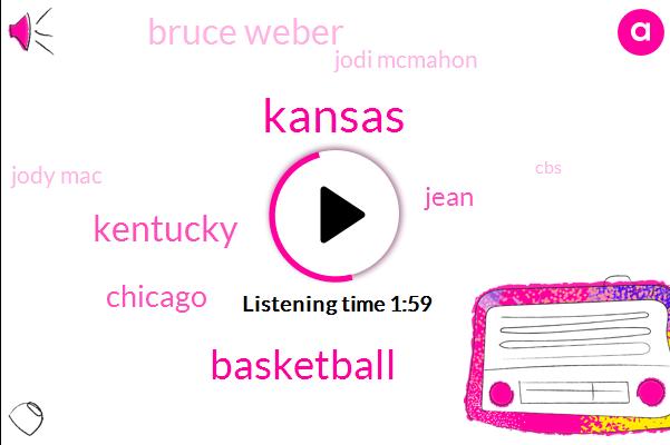 Kansas,Basketball,Kentucky,Chicago,Jean,Bruce Weber,Jodi Mcmahon,Jody Mac,CBS,Three Hours