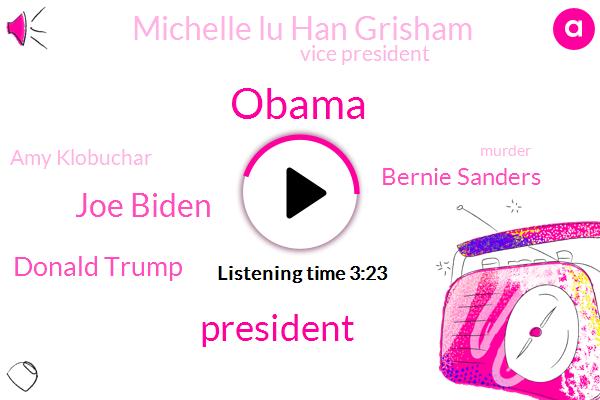 Barack Obama,President Trump,Joe Biden,Donald Trump,Bernie Sanders,Michelle Lu Han Grisham,Vice President,Amy Klobuchar,Murder,Maria Herrera,Minneapolis