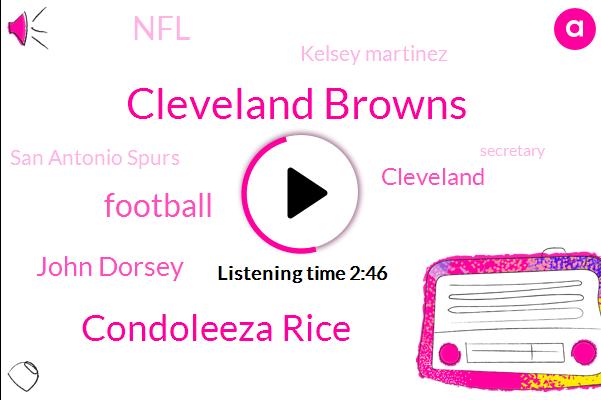 Cleveland Browns,Condoleeza Rice,Football,John Dorsey,Cleveland,NFL,Kelsey Martinez,San Antonio Spurs,Secretary,Basketball,Buffalo Bills,Kate,Catherine Smith Oakland Raiders,Sixty Four Years