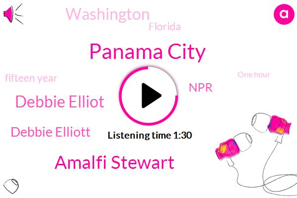 Panama City,Amalfi Stewart,Debbie Elliot,Debbie Elliott,NPR,Washington,Florida,Fifteen Year,One Hour