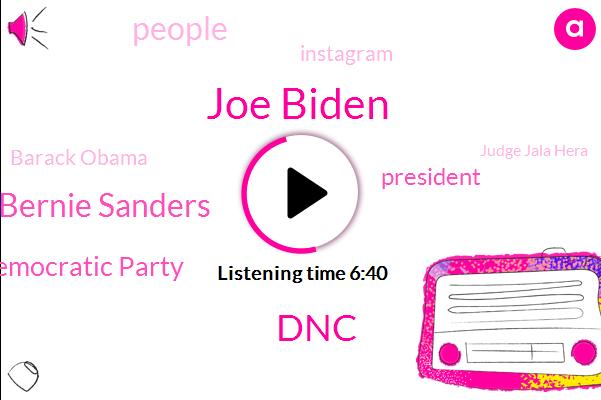 Joe Biden,DNC,Bernie Sanders,Democratic Party,President Trump,Instagram,Barack Obama,Judge Jala Hera,RNC,GOP,Medicare