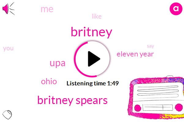 Britney Spears,Britney,UPA,Ohio,Eleven Year