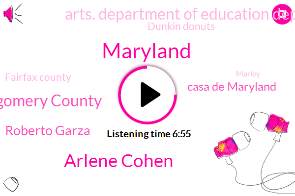 Maryland,Arlene Cohen,Montgomery County,Roberto Garza,Casa De Maryland,Arts. Department Of Education Department Of Justice Department Of Labor,Dunkin Donuts,Fairfax County,Marley,Venezuela,Darlene,Attorney,Baltimore,Arlene.,Marlowe Wolf,Carlos,Sander,United States