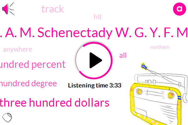 Y. A. M. Schenectady W. G. Y. F. M.,Three Hundred Dollars,One Hundred Percent,Two Hundred Degree