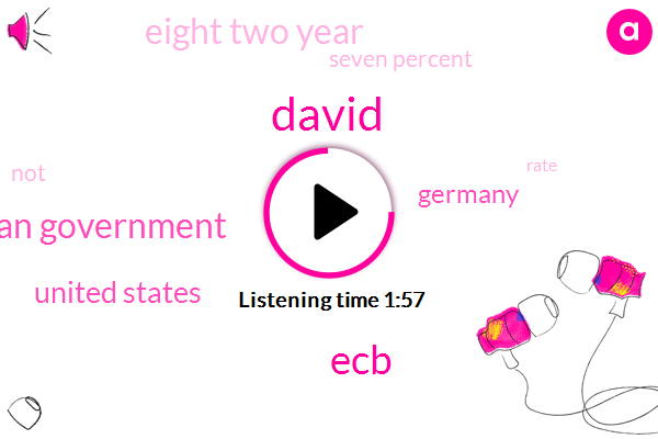 David,ECB,German Government,United States,Germany,Eight Two Year,Seven Percent