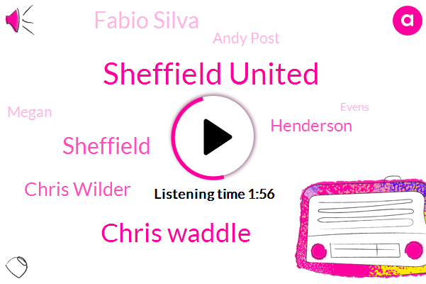 Sheffield United,Chris Waddle,Sheffield,Chris Wilder,Henderson,Fabio Silva,Andy Post,Megan,Evens,Elaine,Liam,Jason,Michael