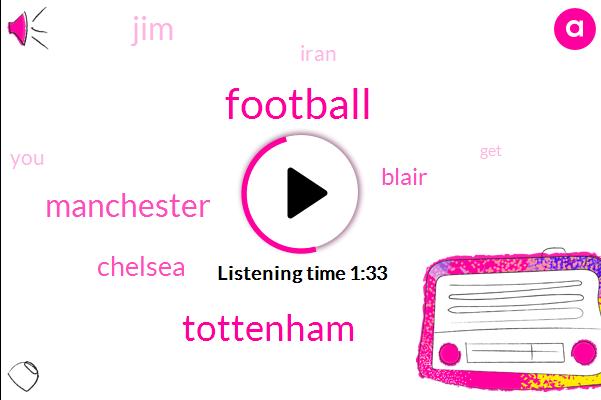 Football,Tottenham,Manchester,Chelsea,Blair,JIM,Iran