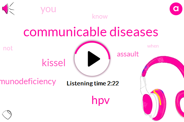 Communicable Diseases,HPV,Kissel,Immunodeficiency,Assault