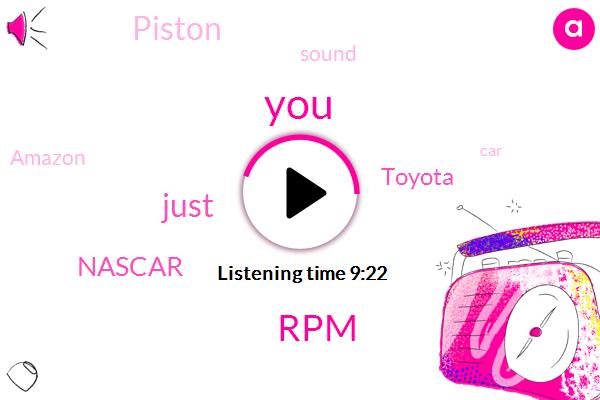 RPM,Nascar,Toyota,Piston,Amazon,Erzen,Nitro Nitromethane