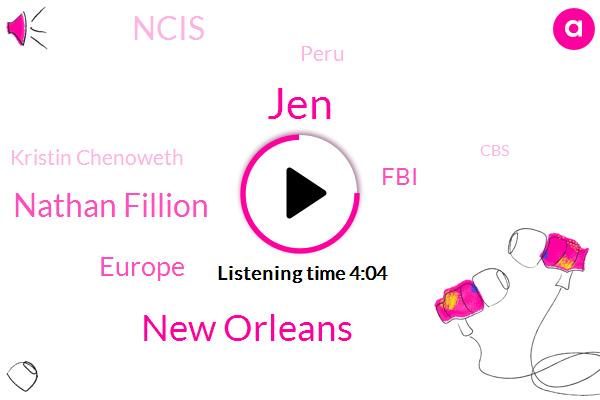 ABC,JEN,New Orleans,Nathan Fillion,Europe,FBI,Ncis,Peru,Kristin Chenoweth,CBS,NBC,Darcy Lynn,Poland,Connors,Twenty Five Years,Twenty Fifth