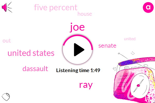 JOE,RAY,United States,Dassault,Senate,Five Percent
