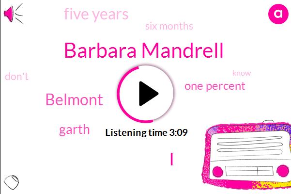 Barbara Mandrell,I,Belmont,Garth,One Percent,Five Years,Six Months