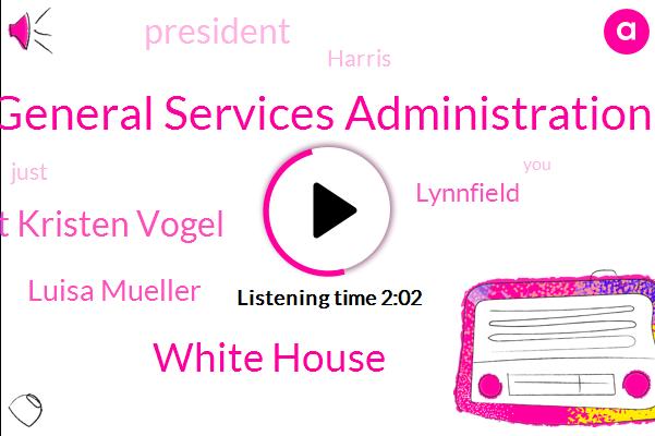General Services Administration,White House,Superintendent Kristen Vogel,Luisa Mueller,Lynnfield,President Trump,Harris