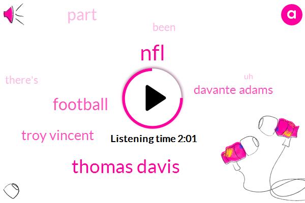NFL,Thomas Davis,Football,Troy Vincent,Davante Adams