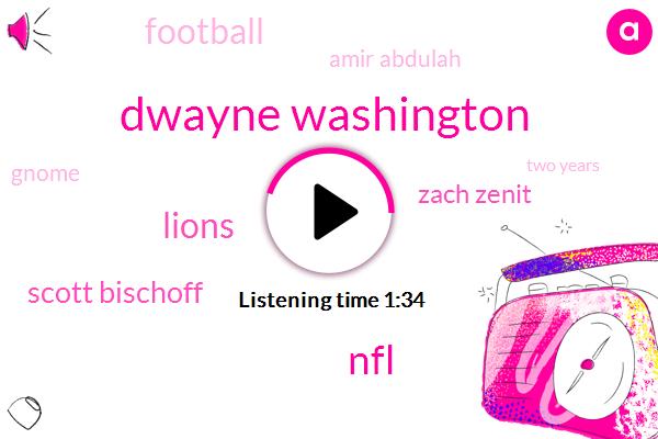 Dwayne Washington,NFL,Lions,Scott Bischoff,Zach Zenit,Football,Amir Abdulah,Gnome,Two Years