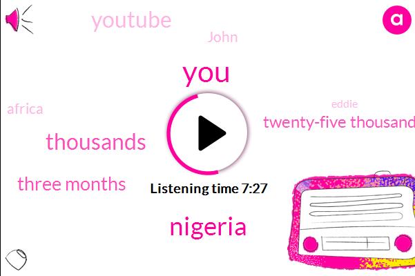 Nigeria,Thousands,Three Months,Twenty-Five Thousand,Youtube,John,Africa,Eddie,Two Months,Twenty Seventeen,A Month And A Half,Nigerian,Each Idea,Today,Each Applicant,Over Twenty Five Thousand,Shasha,First Talk,London,President-Elect