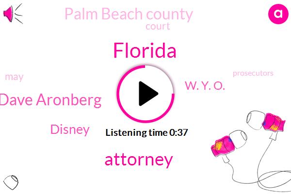 Florida,Attorney,Dave Aronberg,Disney,W. Y. O.,Palm Beach County
