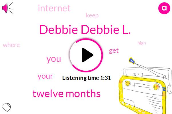 Debbie Debbie L.,Twelve Months