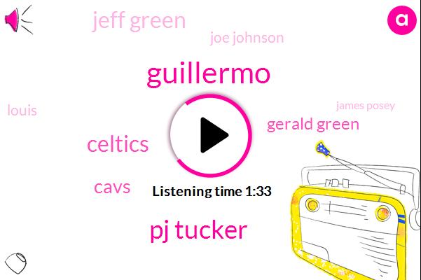 Guillermo,Pj Tucker,Celtics,Cavs,Gerald Green,Jeff Green,Joe Johnson,Louis,James Posey,Seven Years