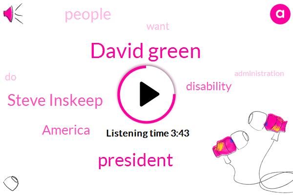 David Green,Steve Inskeep,President Trump,America