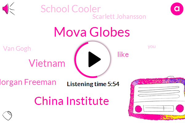 Mova Globes,China Institute,Vietnam,Morgan Freeman,School Cooler,Scarlett Johansson,Van Gogh,Mitchell,Paris,M. O. V.,Mr Hot
