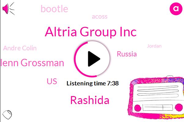 Altria Group Inc,Rashida,Glenn Grossman,United States,Russia,Bootle,Acoss,Andre Colin,Jordan,Philip Morris International Inc
