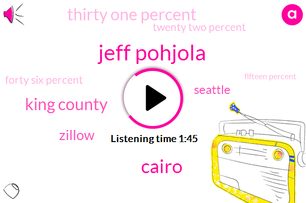 Komo,Jeff Pohjola,Cairo,King County,Zillow,Seattle,Thirty One Percent,Twenty Two Percent,Forty Six Percent,Fifteen Percent,Seven Percent,Four Percent,Four Years