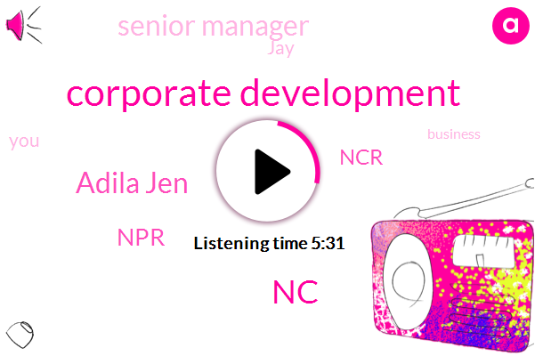 Corporate Development,NC,Adila Jen,NPR,NCR,Senior Manager,JAY