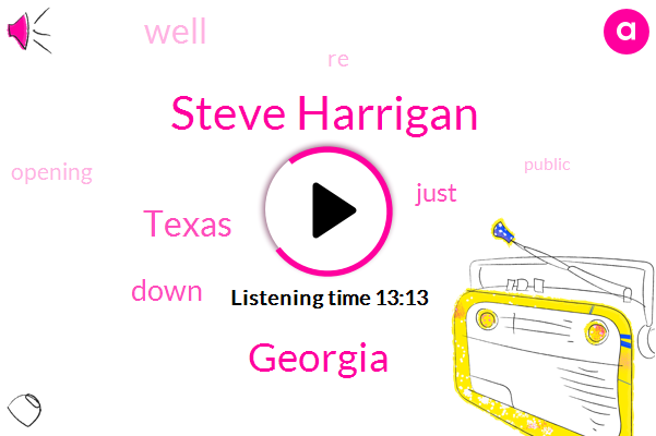 Steve Harrigan,Georgia,Texas