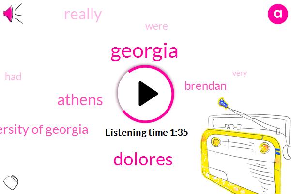 Georgia,Athens,Dolores,University Of Georgia,Brendan