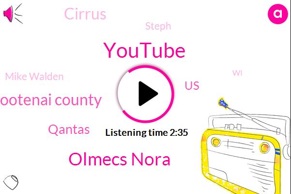Youtube,Olmecs Nora,Kootenai County,Qantas,United States,Cirrus,Steph,Mike Walden,WI,Two Hundred Horsepower,Fifteen Horsepower