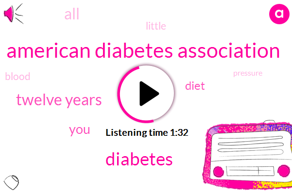 American Diabetes Association,Diabetes,Twelve Years