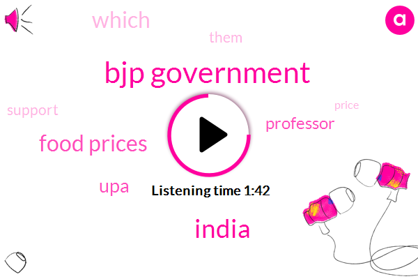Bjp Government,India,Food Prices,UPA,Professor