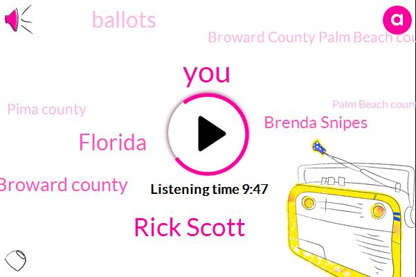 Rick Scott,Florida,Broward County,Brenda Snipes,Broward County Palm Beach County,Pima County,Palm Beach County,Mira Copa County,Maricopa County,President Trump,Donald Trump,Summit Pima,Tucson,Broward County Brenner,Arizona,Senator