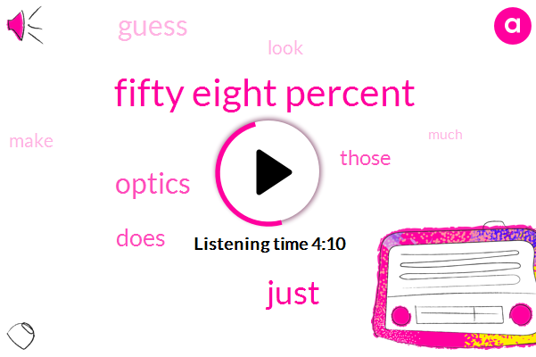 Fifty Eight Percent