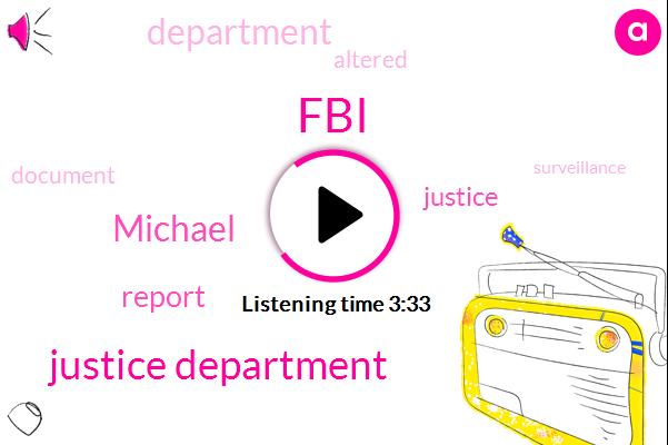 FBI,Justice Department,Michael