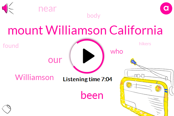 Mount Williamson California