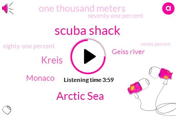 Scuba Shack,Arctic Sea,Kreis,Monaco,Geiss River,One Thousand Meters,Seventy One Percent,Eighty-One Percent,Ninety Percent,Twenty Fifth,Ten Percent