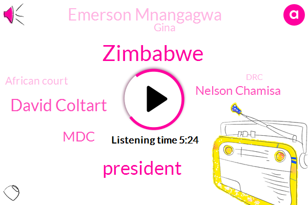 Zimbabwe,David Coltart,President Trump,MDC,Nelson Chamisa,Emerson Mnangagwa,Gina,African Court,DRC,Geiger,Bulawayo,South African Council,Senator,Managua,Robert Mugabe,Emma Simpson,United States