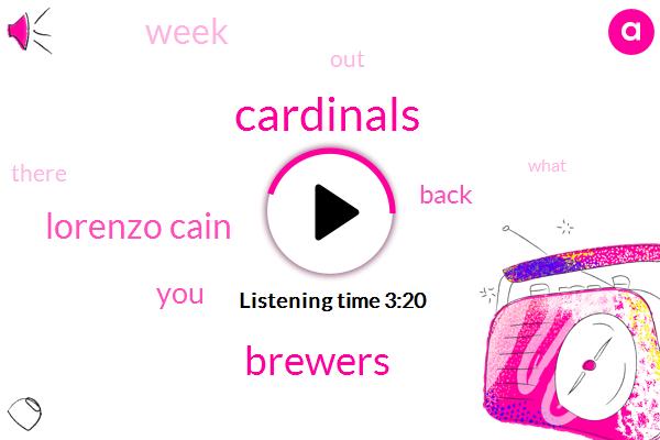 Cardinals,Brewers,Lorenzo Cain