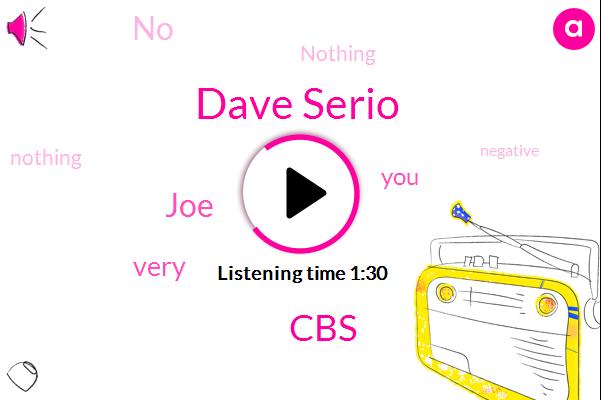 Dave Serio,CBS,JOE
