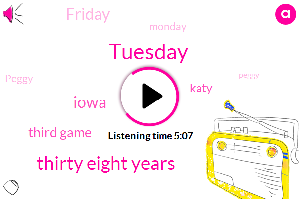 Tuesday,Thirty Eight Years,Iowa,Third Game,Katy,Friday,Monday,Peggy,ONE,Eleven Piece,Fourth Straight Year,Fridays,Wednesdays,North Gwinnett,Fifty Dollars,Schuler,Sixth Straight Time,Gwinnett,Two Amazing Goodie Bags