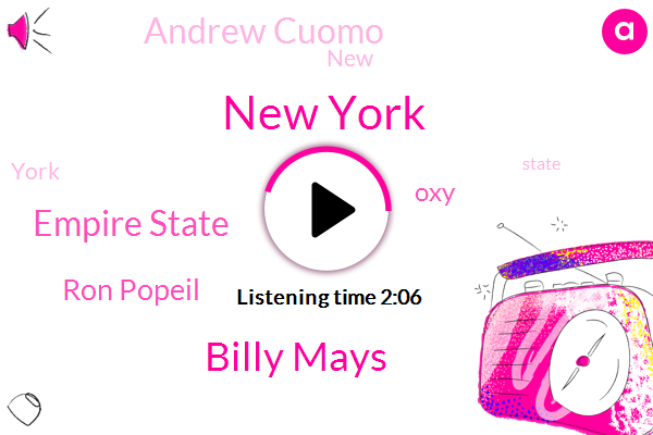 New York,Billy Mays,Empire State,Ron Popeil,OXY,Andrew Cuomo