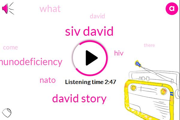 Siv David,David Story,Immunodeficiency,Nato,HIV