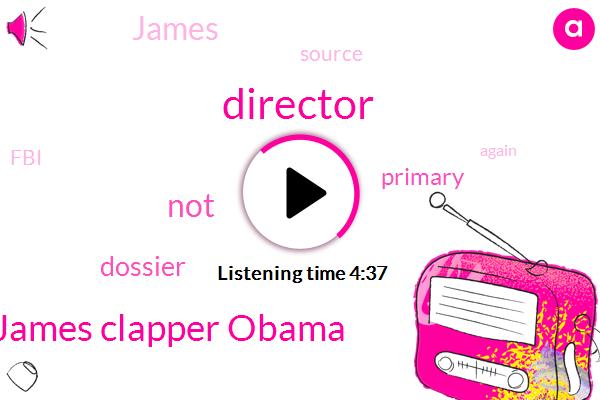 James Clapper Obama,Director