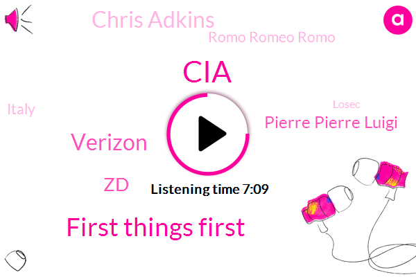 CIA,First Things First,Verizon,ZD,Pierre Pierre Luigi,Chris Adkins,Romo Romeo Romo,Italy,Losec,Tim Irwin,Rome Virginia Raggi,Peru,Humous,Tony Romo,Catholic Church,Delta,Charlie Osborne,Bravo,Mauer